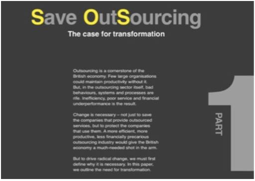 Save OutSourcing Part 1